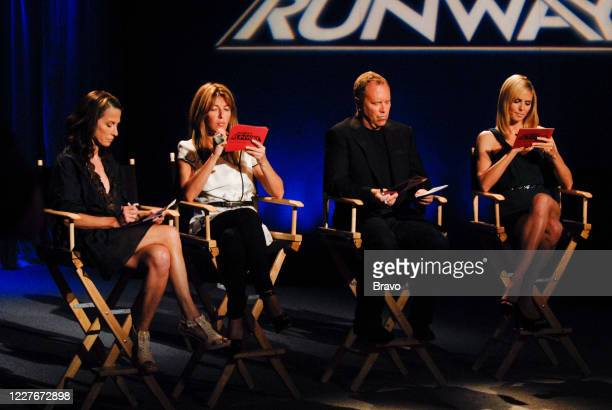 RUNWAY Transformation Episode 510 Pictured Cynthia Rowley Nina Garcia Michael Kors Heidi Klum