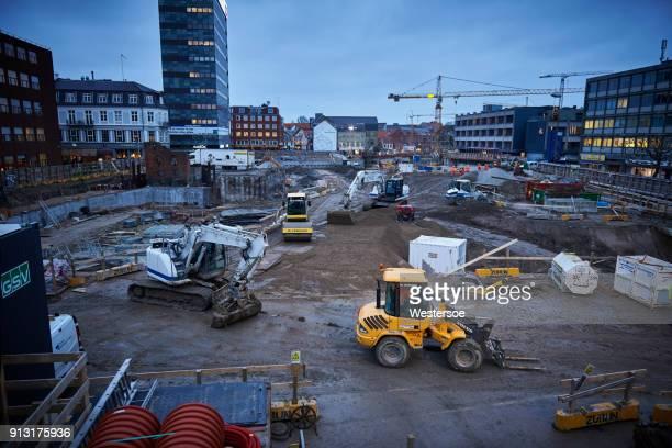 Transformatie van Odense City - bouwplaats