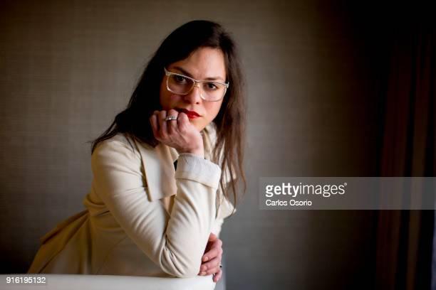 TORONTO ON SEPTEMBER 13 Transgender actress Daniela Vega talks about Spanish film A Fantastic Woman during the Toronto International Film Festival