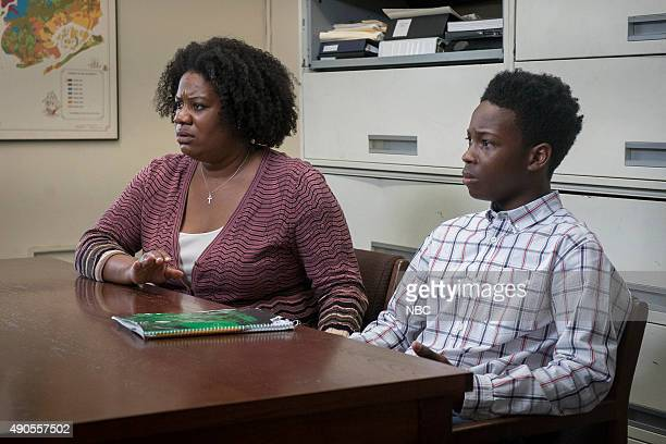 UNIT Transgender Bridge Episode 17001 Pictured Adrienne C Moore as Cheryl McCrae Dante Brown as Darius McCrae