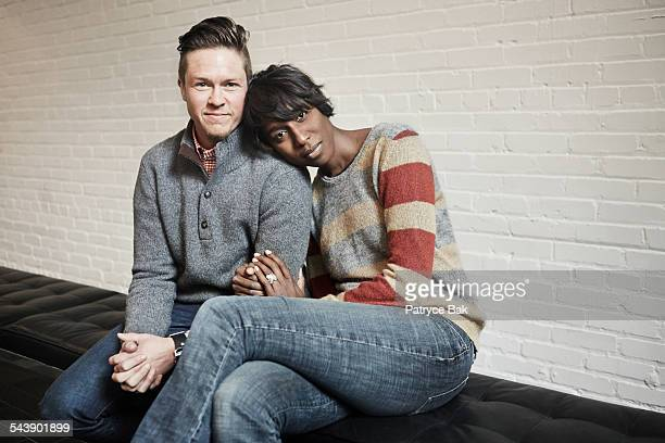 Transgender man and African American partner
