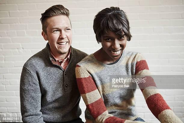 Transgender man and African American partner