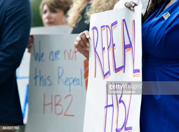 Transgender people and their supporters have been fighting for repeal of House Bill 2 a North Carolina law that requires people in government...
