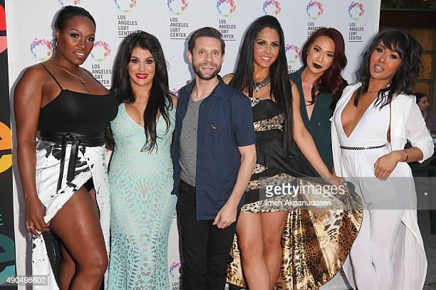 Transgender television personalities Bionka and Bambiana actor Danny Pintauro and transgender television personalities Xristina LA and Nya attends...