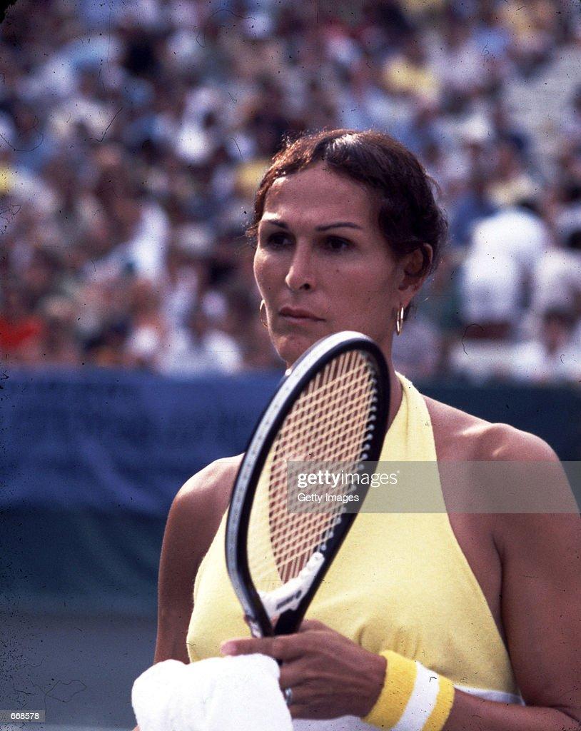Tennis Player Renee Richards : News Photo