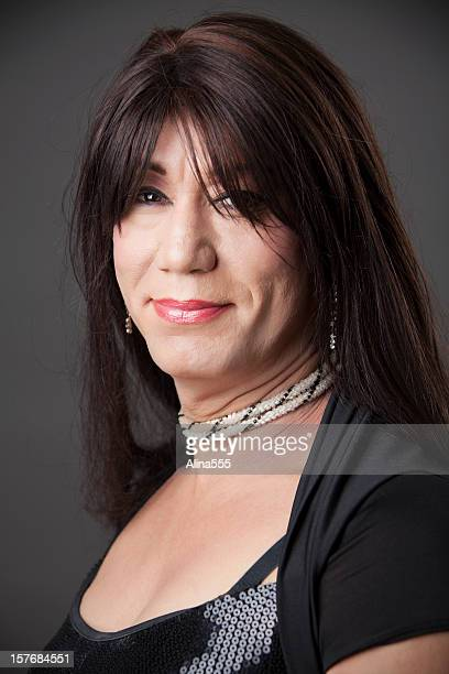 transgender woman. - transvestite stock photos and pictures