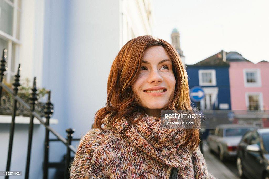 Fröhlich Mann als Frau Crossdressed Androgynous : Stock-Foto
