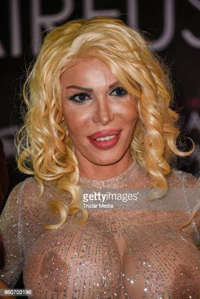 TransgenderModel Edona James during the Venus Erotic Fair Opening 2017 on October 12 2017 in Berlin Germany