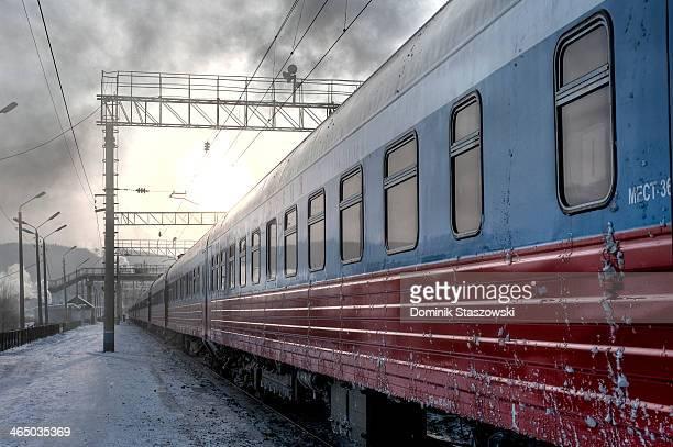 Transiberian train