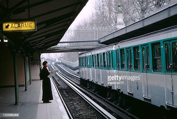 Transit Island In Paris France In 1999 RATP