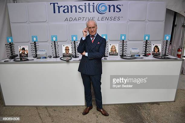 Transitions lenses and Tim Gunn help consumers see life through a new lens and select glasses that seamlessly fit into their lives at a popup shop at...