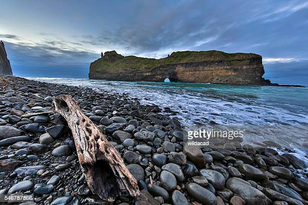 transkei - hole in the wall - eastern cape stock pictures, royalty-free photos & images