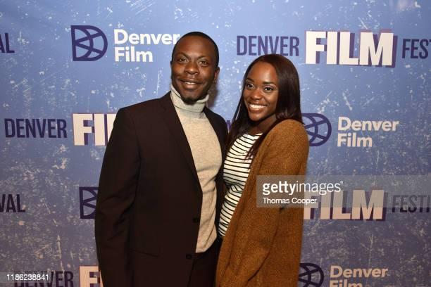 "Translucence"" Director Marcus Scott and Dajah Scott on the red carpet at the 42nd Annual Denver Film Festival on November 07, 2019 in Denver,..."