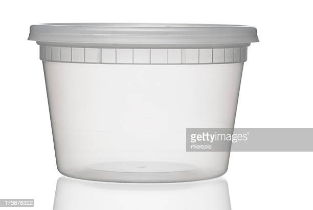 Traslúcido recipiente