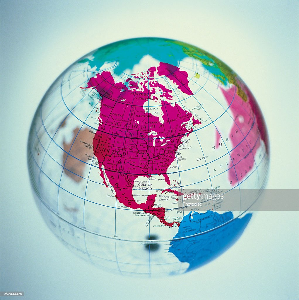 Translucent globe : Stock Photo
