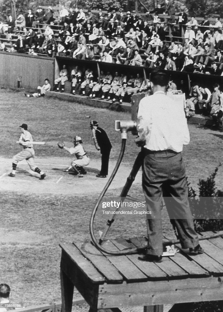 First Baseball Television Transmission News Photo