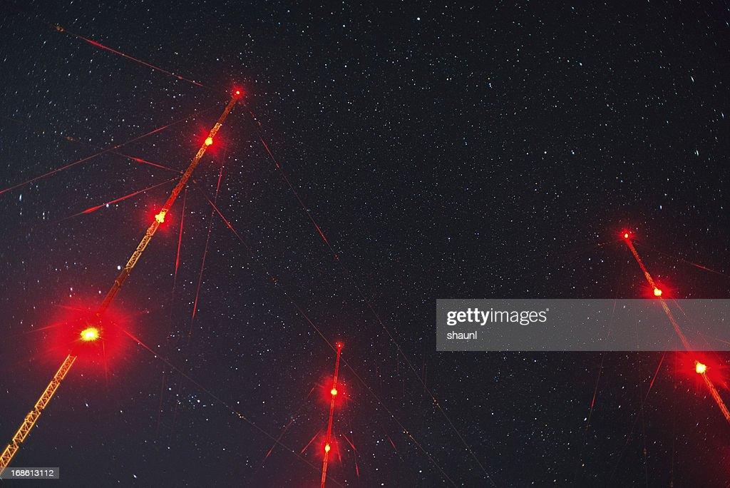 Transmitting to the Stars : Stock Photo