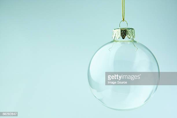 Transparent bauble