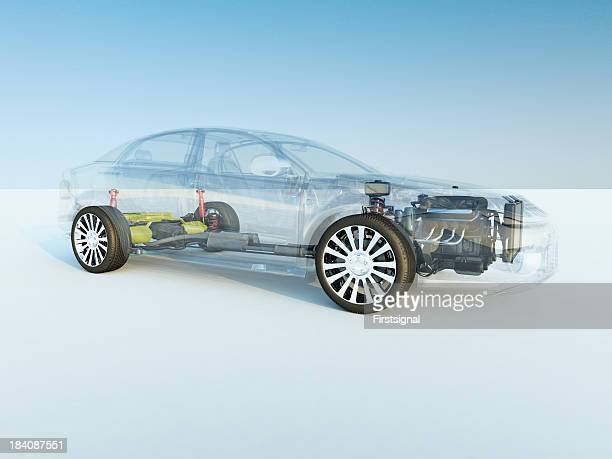 transparent car - hybrid vehicle stock pictures, royalty-free photos & images