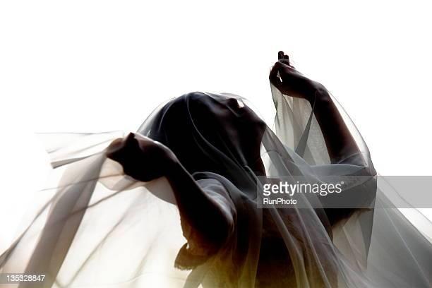 transparent color cloth - チュール生地 ストックフォトと画像
