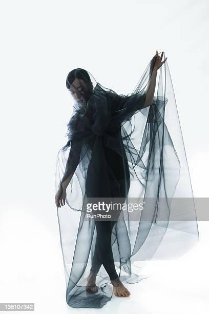 transparent color cloth - 透けて見える ストックフォトと画像