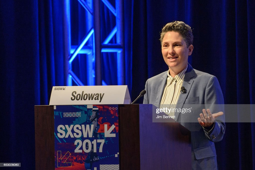 Transparent creator Jill Soloway delivers the Film Keynote during the SxSW Conference at the Austin Convention Center on March 11, 2017 in Austin, Texas.