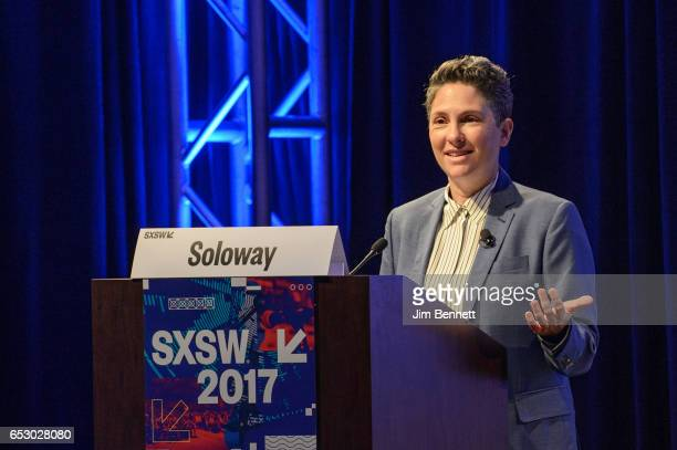 Transparent creator Jill Soloway delivers the Film Keynote during the SxSW Conference at the Austin Convention Center on March 11 2017 in Austin Texas