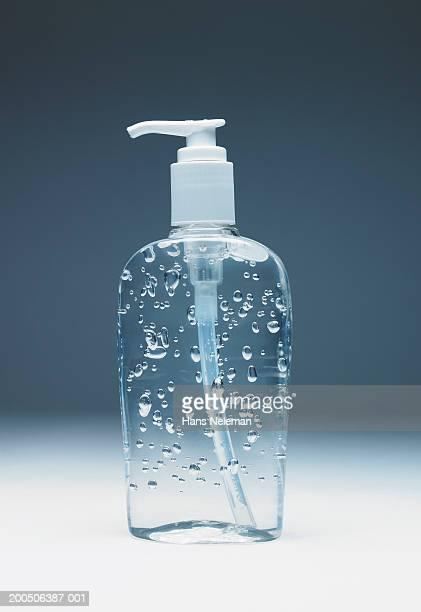 Transparent liquid soap pump