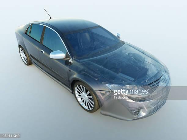 Transparent vehicle
