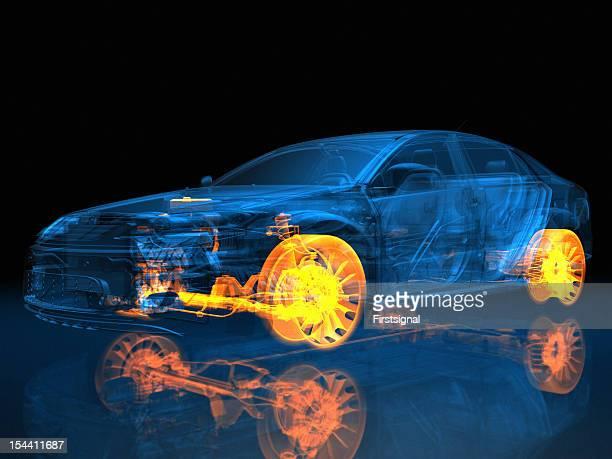 Transparente Fahrzeug