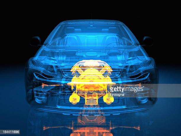 transparent vehicle - engine stock pictures, royalty-free photos & images