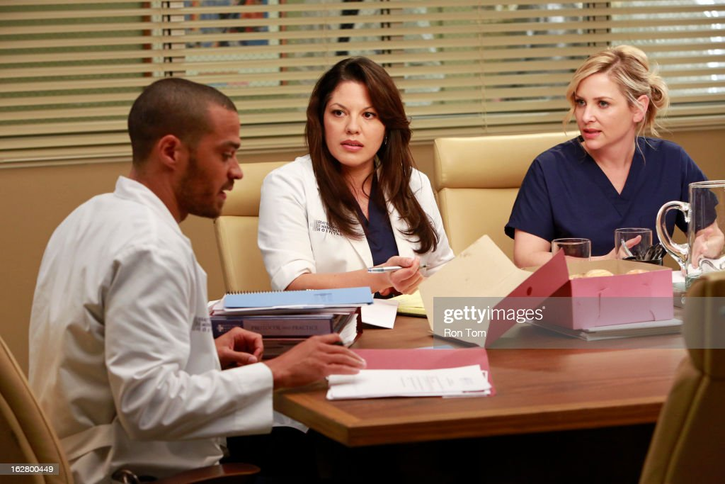 "ABC's ""Grey's Anatomy"" - Season Nine : News Photo"