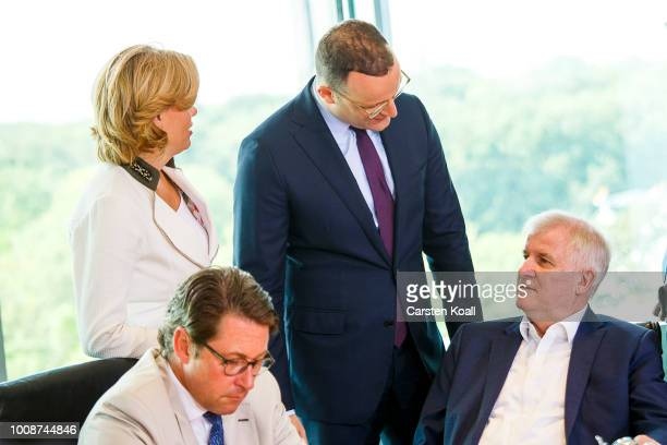 Transport and Digital Infrastructure Minister Andreas Scheuer Agriculture and Consumer Protection Minister Julia Kloeckner Health Minister Jens Spahn...