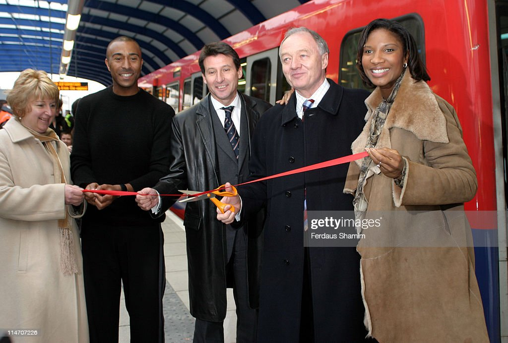 Launch of Docklands Light Railway Extension to London City Airport