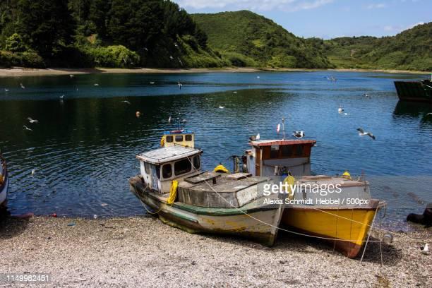 transportation image - puerto montt - fotografias e filmes do acervo