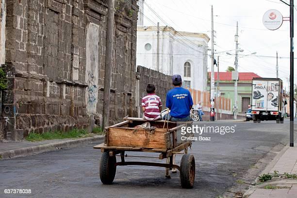 transporte en nicaragua - nicaragua fotografías e imágenes de stock