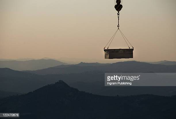 transportation in san marino in the apennine mountains - sovereign_state stock pictures, royalty-free photos & images