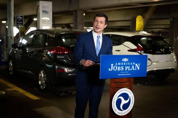 DC: Transportation Secretary Buttigieg Highlights New Electric Vehicle Charging Station On Earth Day