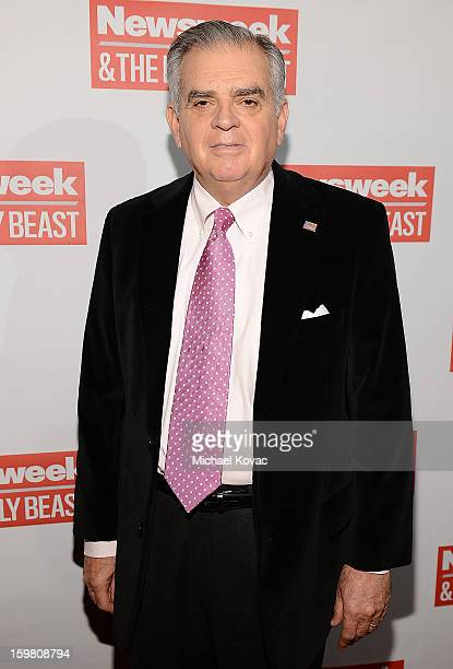 S Transportation Secretary Ray LaHood attends The Daily Beast BiPartisan Inauguration Brunch at Cafe Milano on January 20 2013 in Washington DC