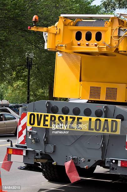 Transportation vehicle- oversize load