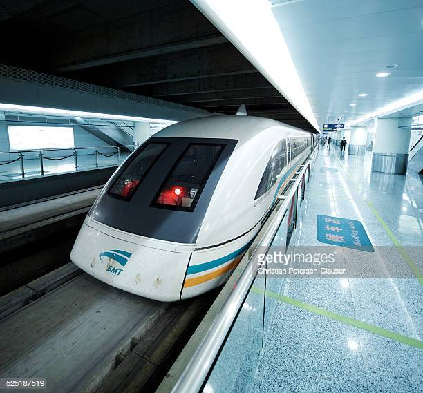 Transrapid Maglev train in Pudong