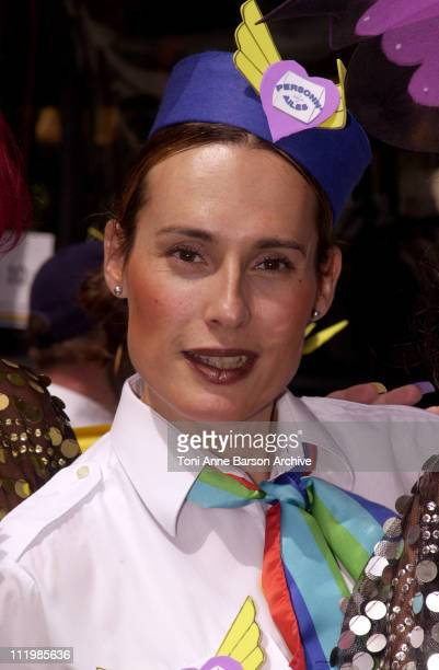 Transsexual Andrea Colliaux flight attendant who started as a steward at Air France and recently reentered the French airline as a stewardess after a...