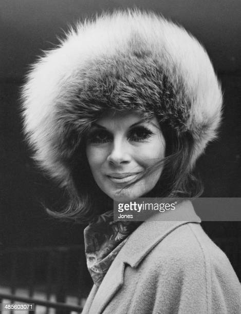 Transsexual model April Ashley wearing a fur hat 12th February 1970 Mr Justice Ormrod had recently ruled that her marriage should be annulled as she...