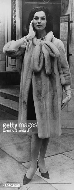 Transsexual model April Ashley who is to marry Arthur Corbett son of Lord Rowallan 28th April 1962 Their marriage was later annulled because she had...
