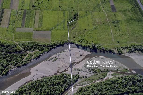 Trans-Siberian Gas Pipeline In Ukraine
