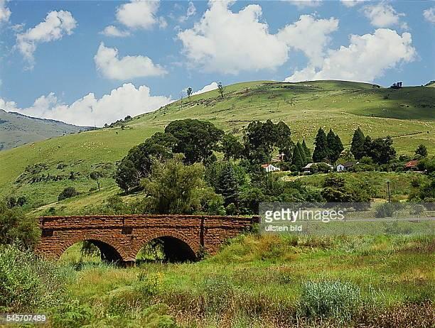 Transvaal: Landschaft bei Pilgrims`sRest- 1993