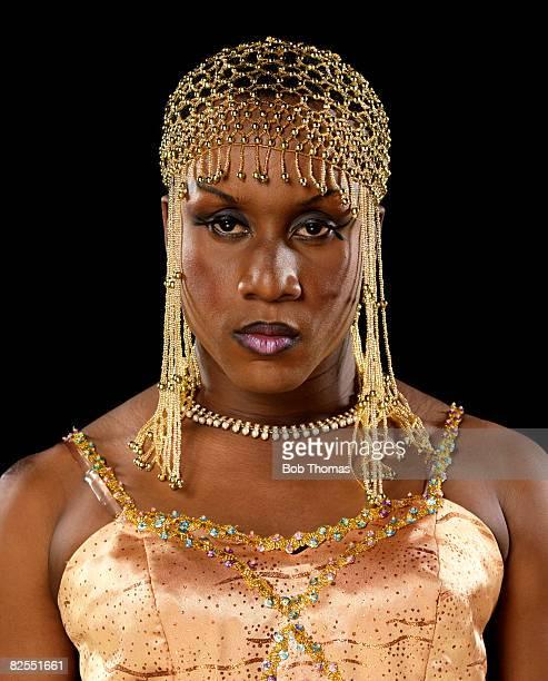 transvestite showgirl - beautiful transvestite stock photos and pictures