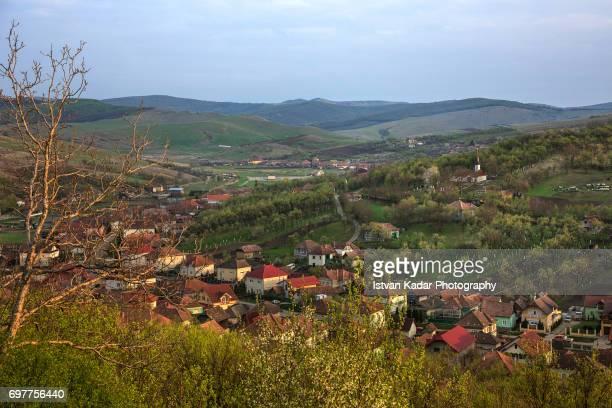transylvanian village of szék (sic), romania - traditionally hungarian stock pictures, royalty-free photos & images