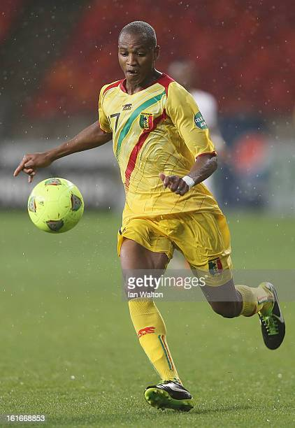 Traore Elhadji Mahamane of Mali in action during the 2013 Africa Cup of Nations Third Place PlayOff match between Mali and Ghana on February 9 2013...