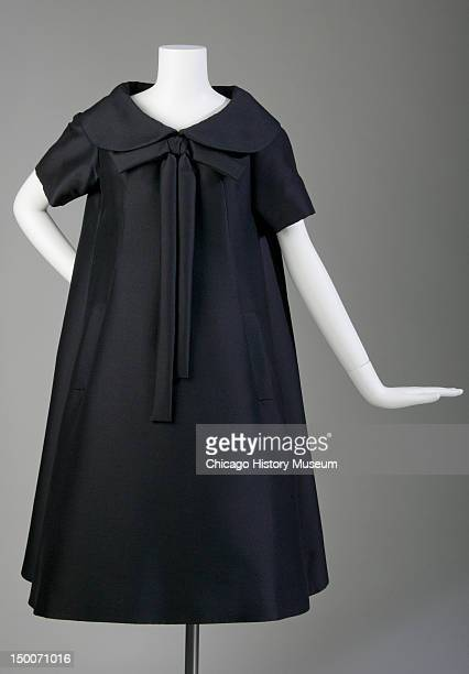 Trapeze afternoon dress 1958 Mohair by Yves Saint Laurent for Christian Dior